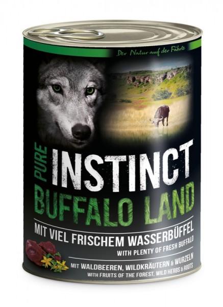 Pure Instinct Wasserbüffel Buffalo Land 800 g Dose