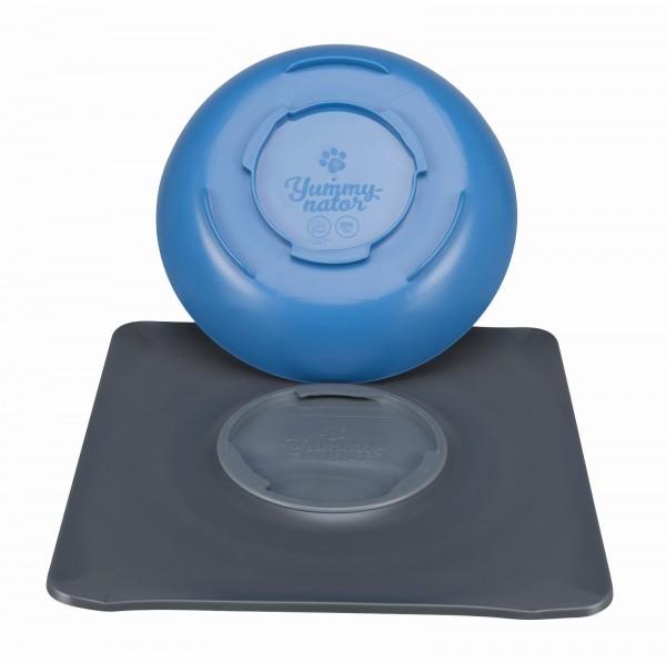 Yummynator rutschfestes Napf System M 850 ml Blau