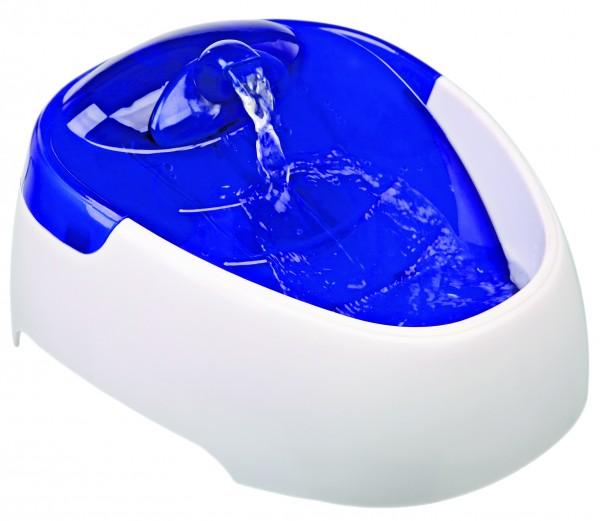 Trixie Wasserautomat Duo Stream 1 Liter weiß blau