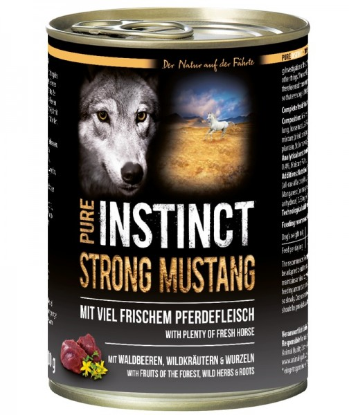Pure Instinct Pferd Strong Mustang 400 g Dose