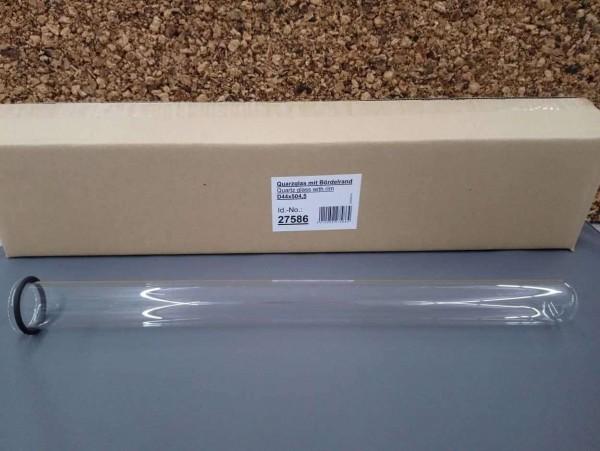 Oase Ersatz Quarzglas Bitron 36 C 55 C mit Bördelrand / Original Oase 27586
