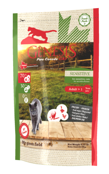 Genesis Cat Sensitive My green field
