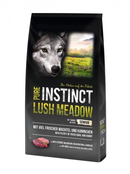 Pure Instinct Lush Meadow Senior Kaninchen und Wachtel 12 Kg