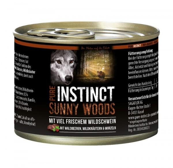 Pure Instinct Wildschwein Sunny Woods 200 g Dose