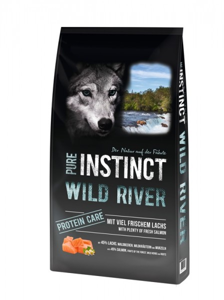 Pure Instinct Adult Lachs Wild River 12 kg