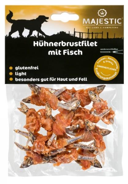 Majestic Hühnerbrustfilet mit Fisch