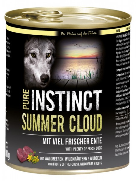 Pure Instinct Ente Summer Cloud 800 g Dose