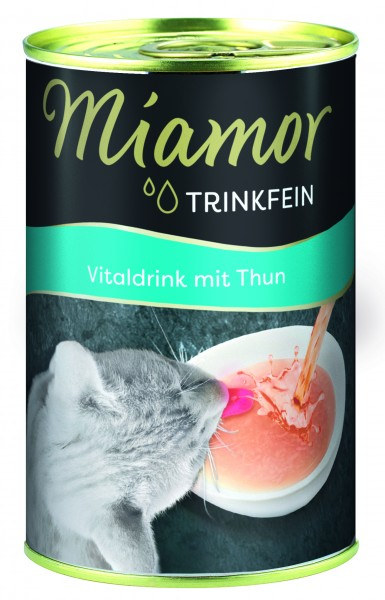 Miamor Trinkfein Vitaldrink Thunfisch 135 ml