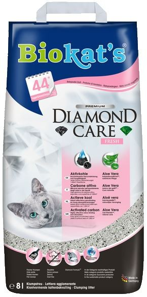 Biokats Diamond Care Fresh Katzenstreu 8 Liter