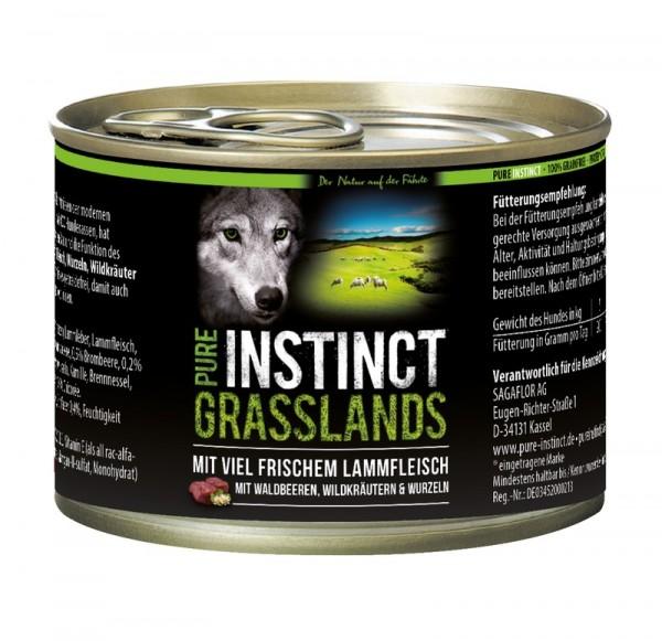 Pure Instinct Lamm Grasslands 200 g Dose