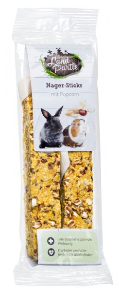 LandPartie Nager-Sticks mit Popcorn 120 g