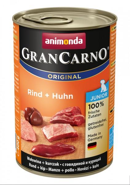 Animonda GranCarno Junior mit Rind + Huhn 400 g
