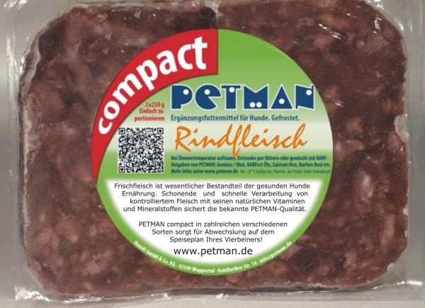 Petman Compact Rindfleisch 500 g (2x250 g) !KEIN VERSAND MÖGLICH!