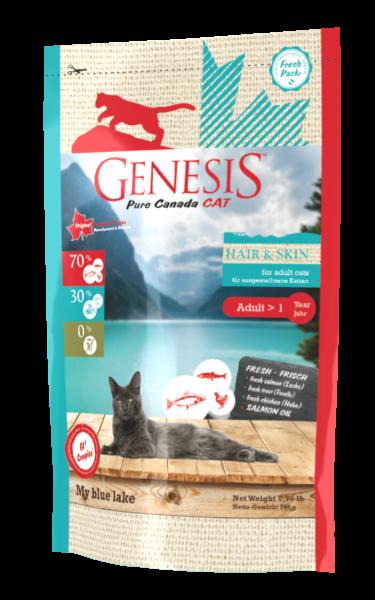 Genesis Cat Hair and Skin My blue lake