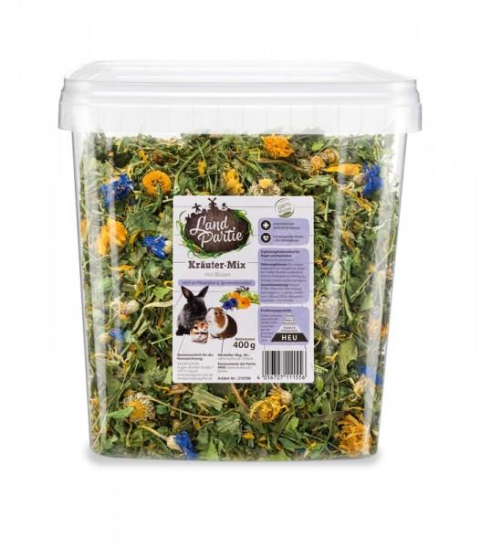 LandPartie Kräuter Mix mit Blüten 400g