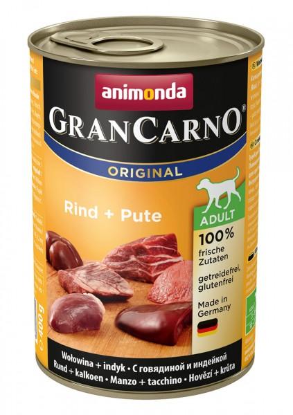 Animonda GranCarno Adult mit Rind + Pute 400 g