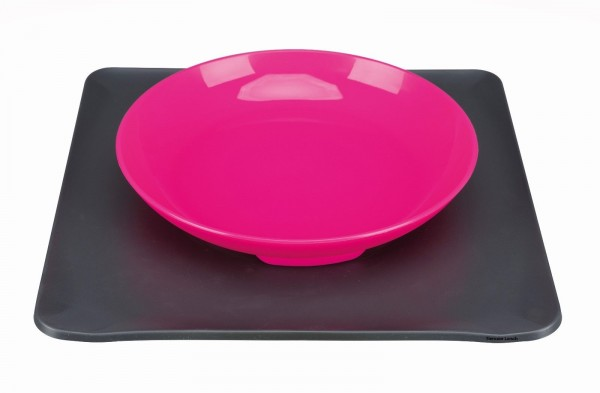 Yummynator rutschfestes Napf System S 400 ml Pink
