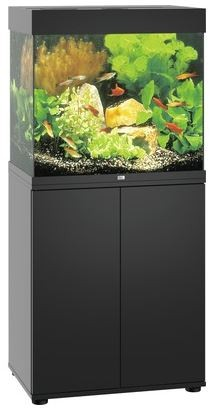Juwel Lido LED 120 Aquarium Kombination Schwarz