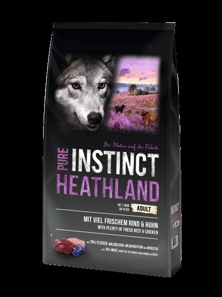 Pure Instinct Adult Rind & Huhn Heathland 12 Kg