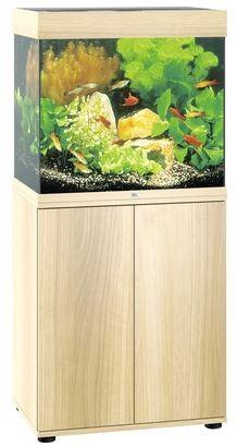Juwel Lido LED 120 Aquarium Kombination helles Holz