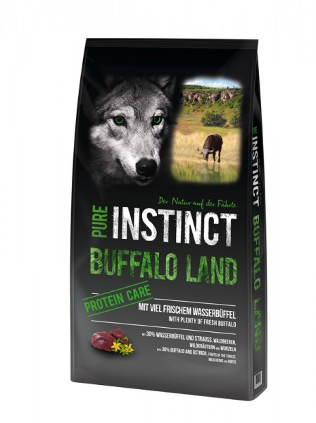Pure Instinct Adult Büffel & Strauß Buffalo Land 1 Kg