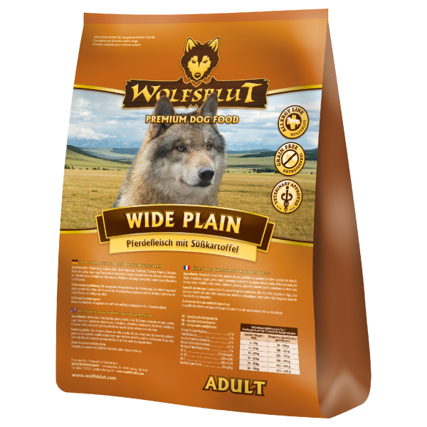 Wolfsblut Wide Plain Pferdefleisch Süßkartoffeln