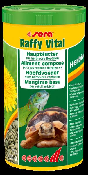sera Raffy Vital Hauptfutter für herbivore Reptilien