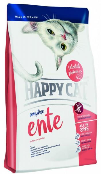 Happy Cat Sensitive Grainfree Ente