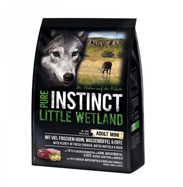 Pure Instinct Mini Little Wetland Huhn, Wasserbüffel und Ente 4 kg