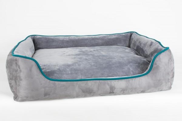 Azoona Hundebett Classic Plüsch 100x80x25 cm