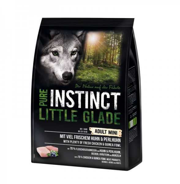 Pure Instinct Mini Little Glade Huhn und Perlhuhn 1 kg