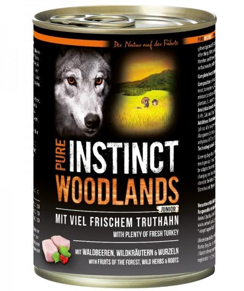 Pure Instinct Junior Truthahn Woodlands 400 g Dose