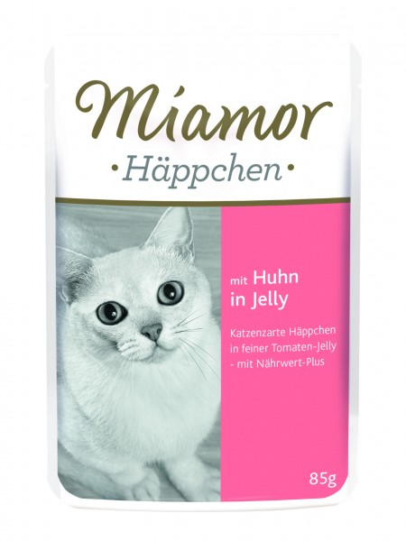 Miamor Pouch Häppchen in Tomatenjelly 85 g