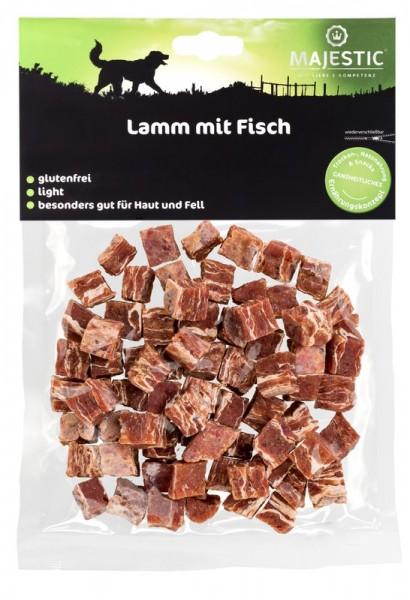 Majestic Lamm mit Fisch Würfel 150 g