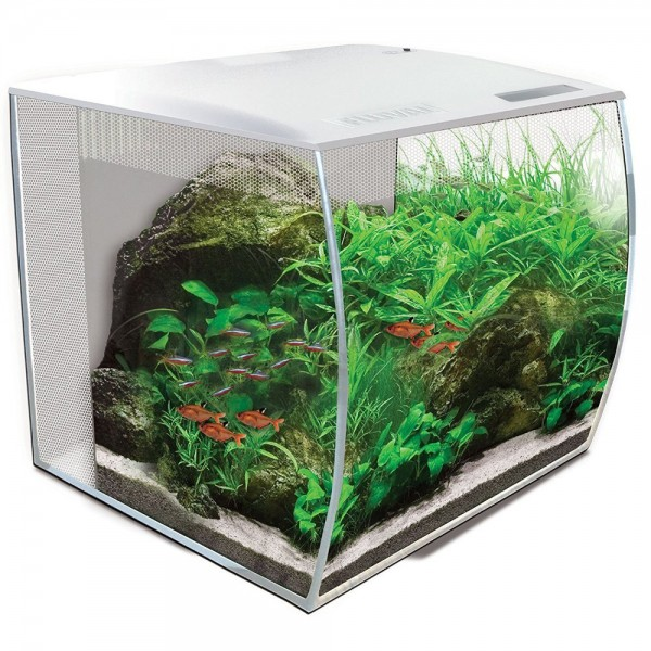 Fluval Flex 57 Liter Nano Aquarienset in Weiß