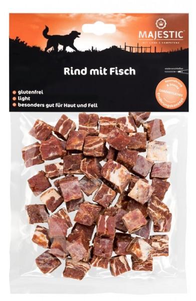 Majestic Rind mit Fisch Würfel 150 g