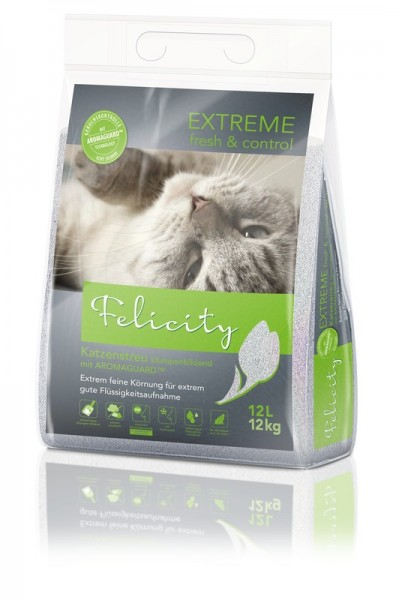 Felicity Katzenstreu EXTREME fresh & control 12 L / 12 kg