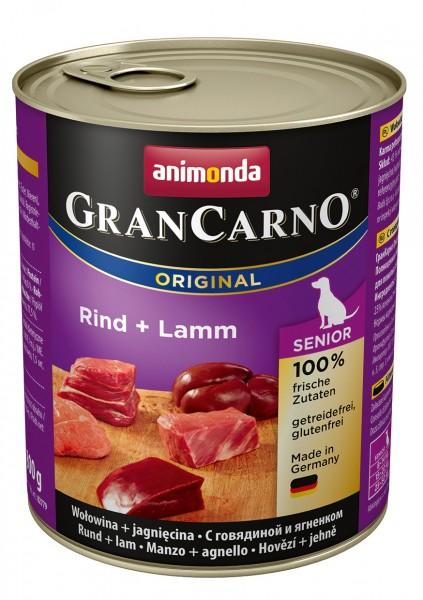 Animonda GranCarno Adult mit Rind + Lamm 800 g