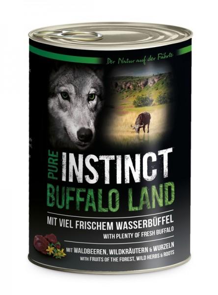 Pure Instinct Wasserbüffel Buffalo Land 400 g Dose