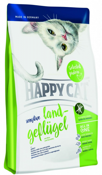 Happy Cat Sensitive Grainfree Land Geflügel