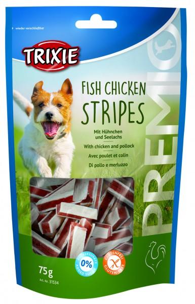 Trixie Premio Fish Chicken Stripes 75 g