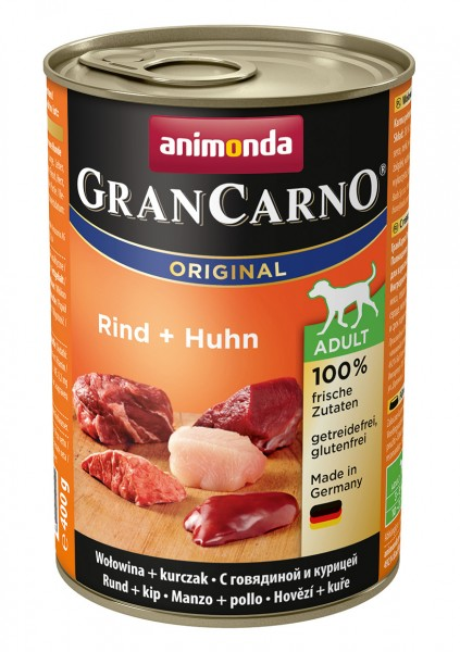Animonda GranCarno Adult mit Rind + Huhn 400 g
