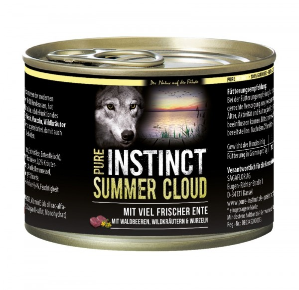 Pure Instinct Ente Summer Cloud 200 g Dose