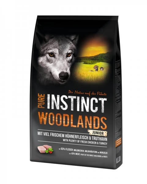 Pure Instinct Junior Woodlands Huhn & Truthahn 1 Kg