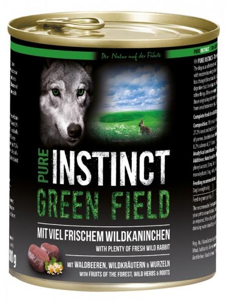 Pure Instinct Wildkaninchen Green Field 800 g Dose