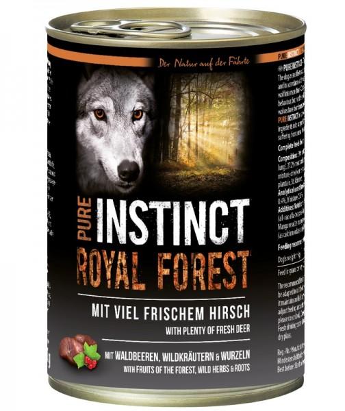 Pure Instinct Hirsch Royal Forest 400 g Dose