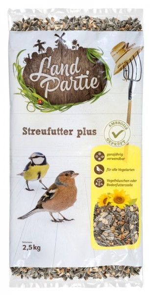 LandPartie Streufutter Plus für Wildvögel