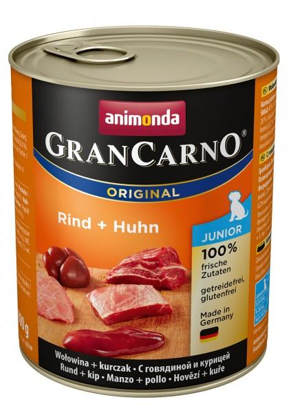 Animonda GranCarno Junior mit Rind + Huhn 800 g
