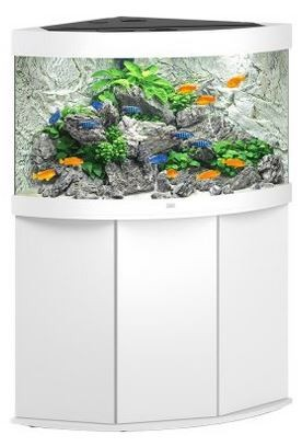 Juwel Trigon 190 LED Aquarium Kombination Weiß