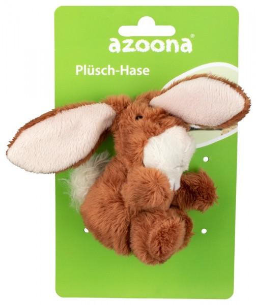 Azoona Katzenspielzeug Hase Plüsch